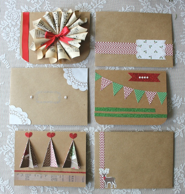 handmade christmas cards | Card Making Ideas | Pinterest