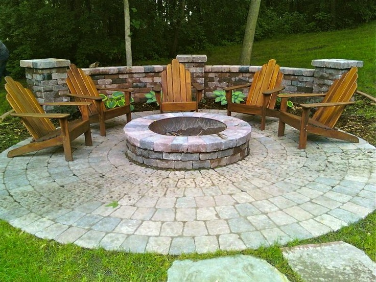 outdoor fire pit area fire pits pinterest