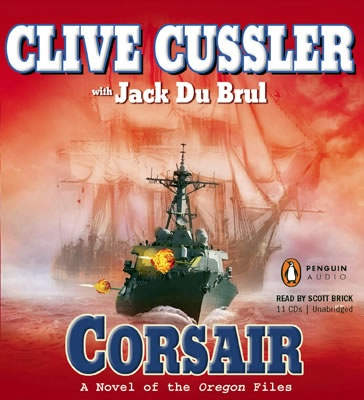 Corsair is just one of the many amazing Clive Cussler books and is one of my favorites!