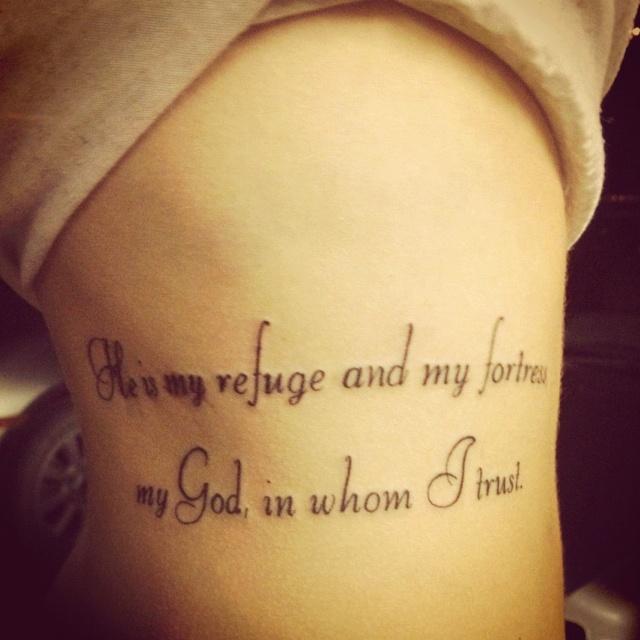 Psalm 23 Tattoo