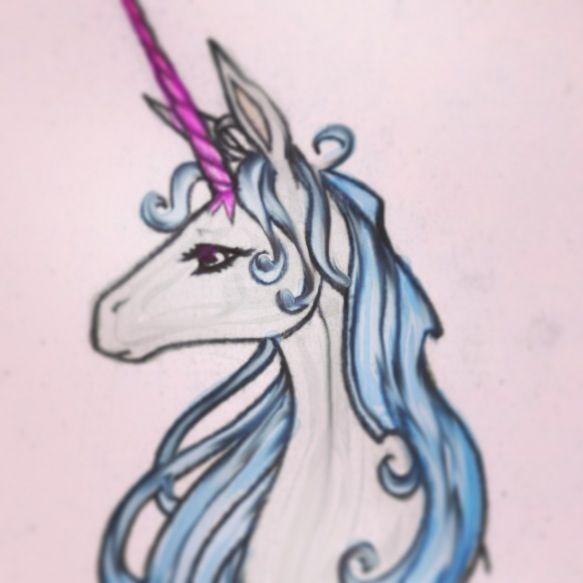 The last unicorn tatto...