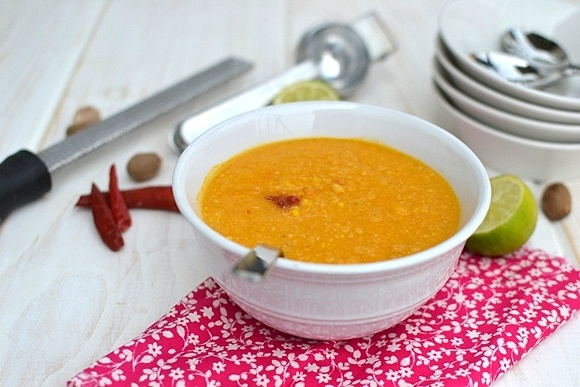 Thai corn & roasted pepper bisque | Healthy recipes | Pinterest