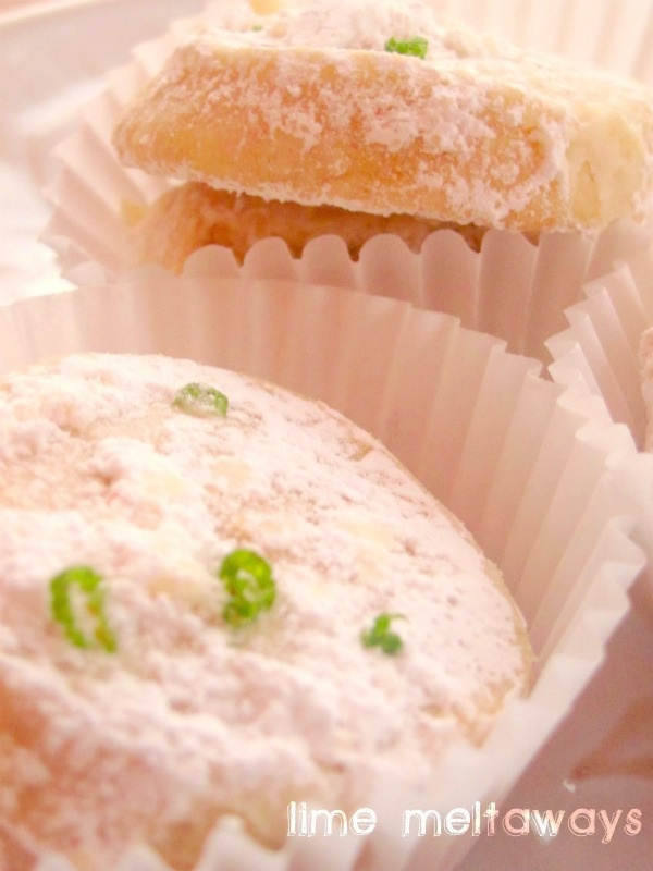 Lime Meltaways From ''The Martha Stewart Show Recipe — Dishmaps