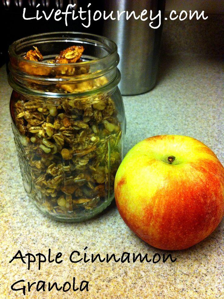Apple Cinnamon Granola | rise and shine. | Pinterest