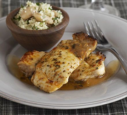 Harissa chicken with herbed couscous recipe - Recipes - BBC Good Food