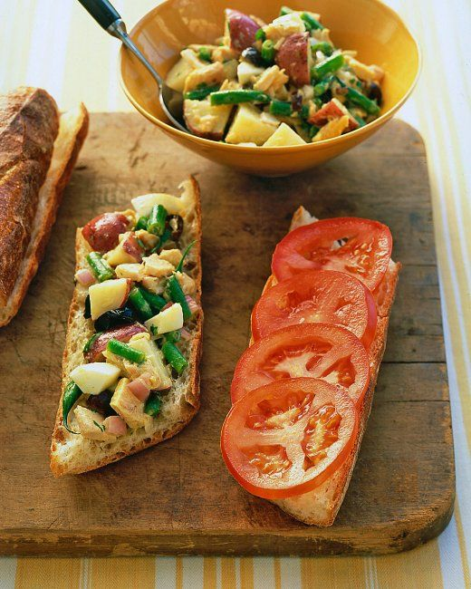 Salade Nicoise Sandwiches | foodies | Pinterest