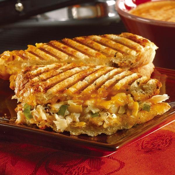 Crab and Artichoke Panini | Bread & Butter | Pinterest