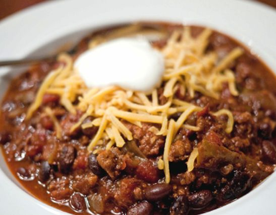 Easy Turkey Chili | Irresistible Recipes - Meals & Snacks | Pinterest