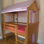 tuto pour fabriquer un lit cabane.  idées déco pour la maison ...