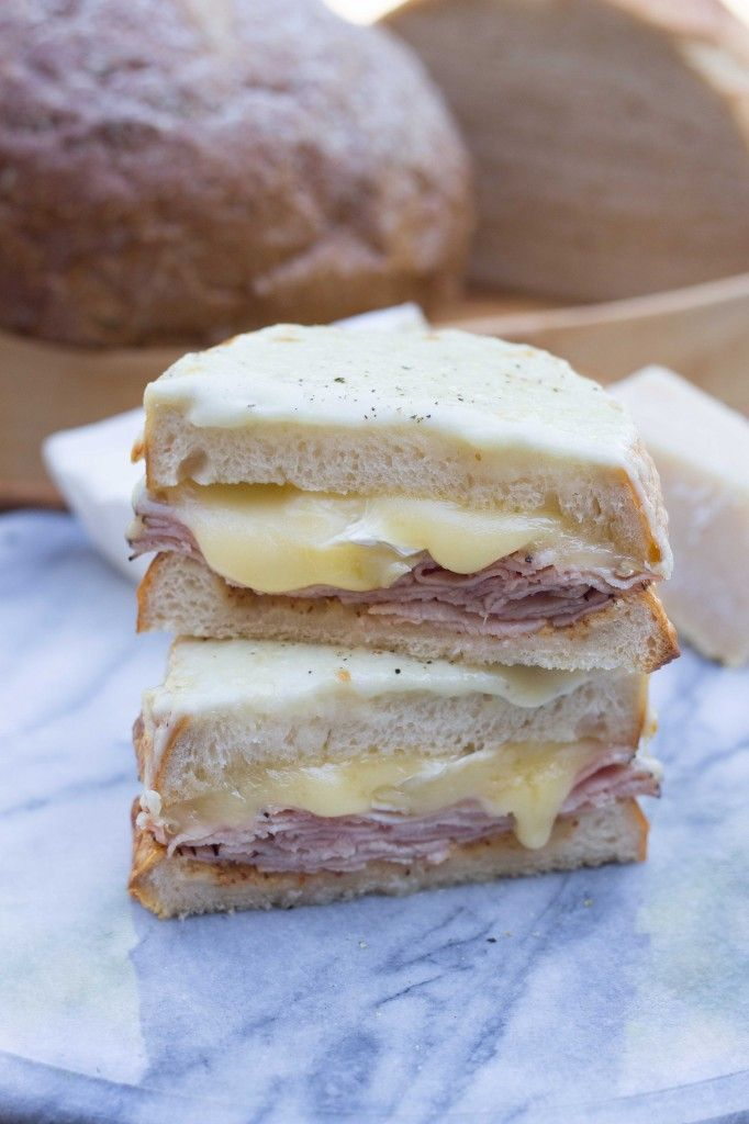 Croque Monsieur with Brie and Black Forest Ham » The Table