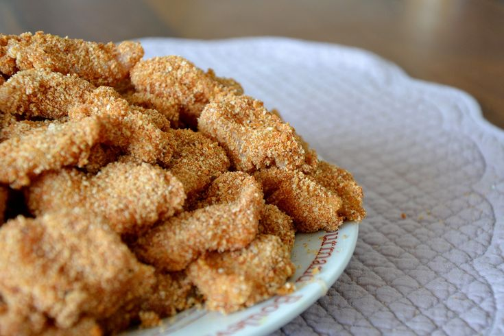 Baked chicken nuggets recipe | Foood | Pinterest
