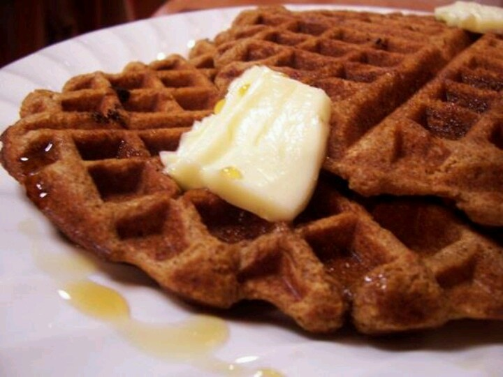 Gingerbread waffles | I