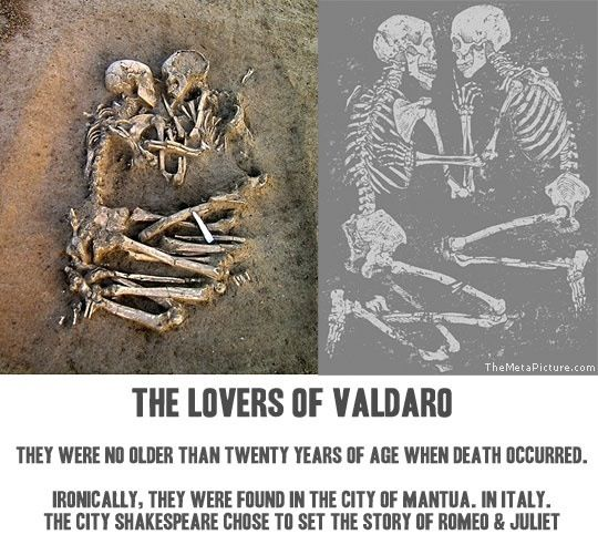 Deaths Romeo and Juliet
