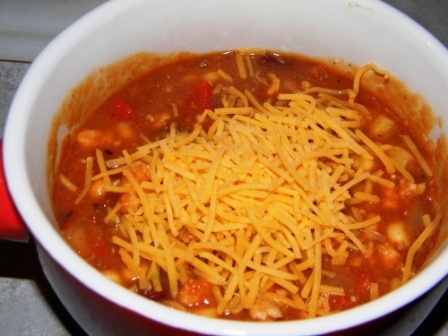 Kate's Cure for the Common Cuisine: Turkey Chili Taco Soup