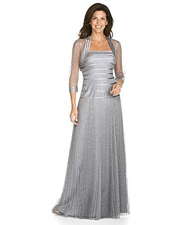 Bolero dress at dillard 39 s mother of the bride dresses for Dillards wedding dresses mother of the bride