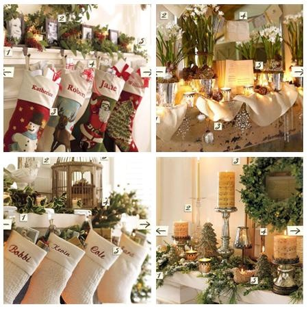 Christmas Mantel Ideas Pinterest