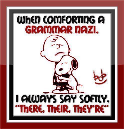 Grammar hug