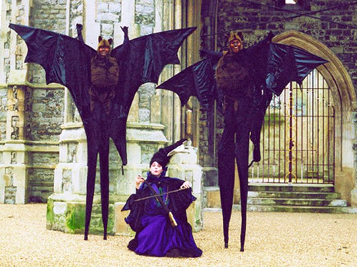 Scary stilt costume - photo#7