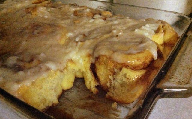 Vanilla Pudding Cinnamon Rolls   Desserts   Pinterest