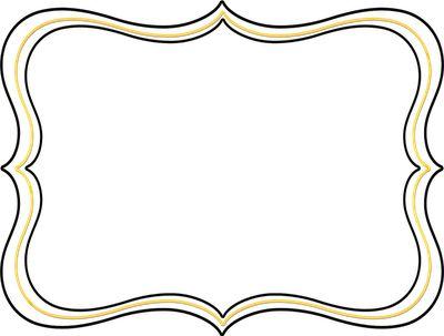 Circle Frame Clip Art Scalloped Circle Frame Clip