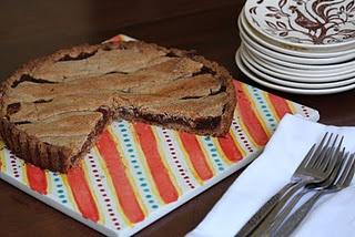 Apple butter and walnut linzer torte.   Sweets & Baked Goods   Pinter ...