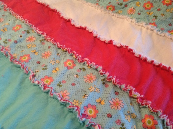 Rag Quilt Patterns For Twin Bed : Twin Rag Quilt Twin bed size