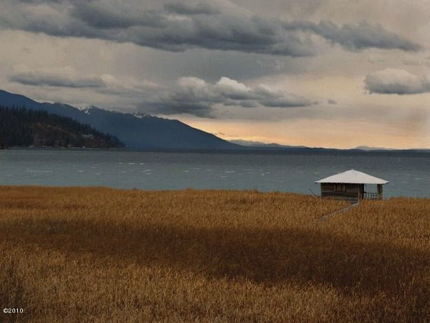 My view from my dream house It Only Looks Old: A Lake House in Montana