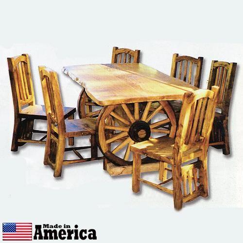Wagon Wheel table Furniture I need