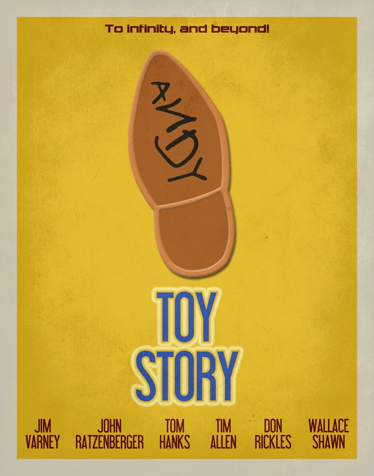 Examples of movie posters for kids
