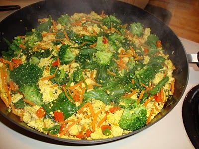 Tofu Scramble | Vegan Yums | Pinterest