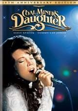 Coal Miner's Daughter is a 1980 American biographical film which tells the story of country music icon Loretta Lynn. It stars Sissy Spacek in her Academy Award for Best Actress winning role, Tommy Lee Jones, Beverly D'Angelo and Levon Helm, and was directed by Michael Apted. <3 <3 <3 <3 <3 <3 <3 <3 /8
