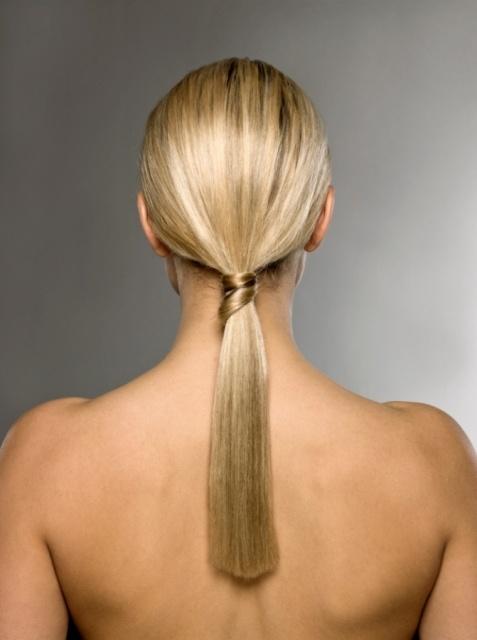 Easy Ponytail Myfav Hairstyles