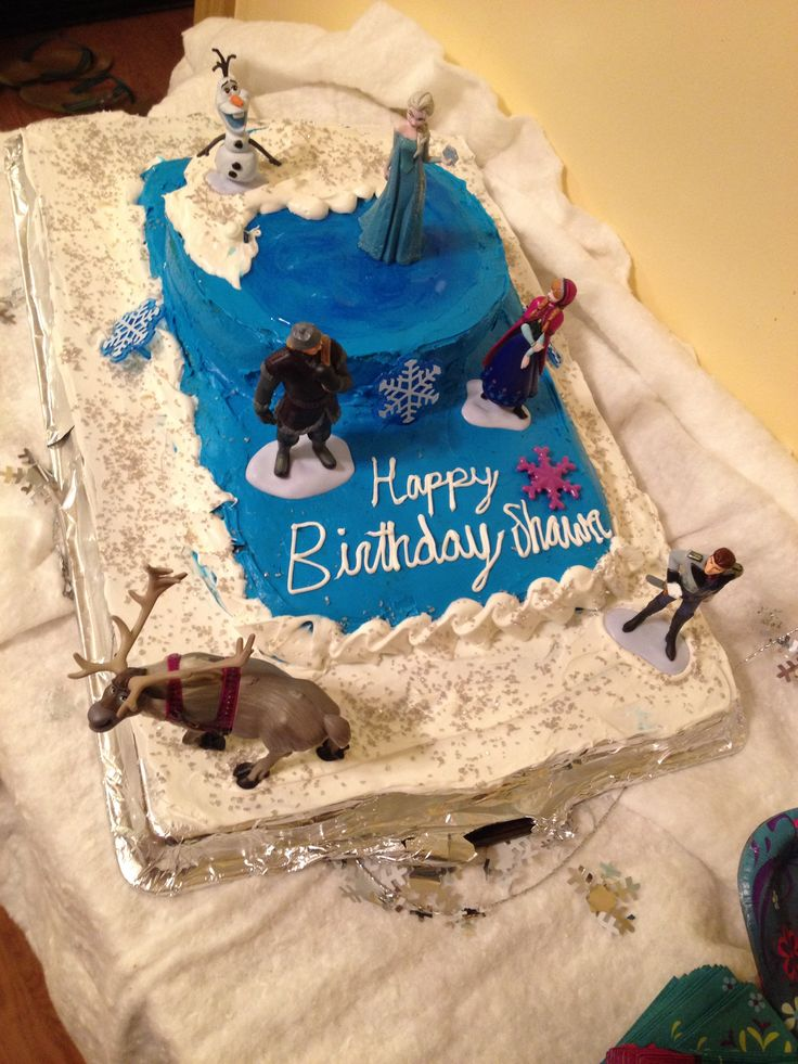 Birthday Cake Ideas Disney Frozen : Disney Frozen birthday cake Frozen Pinterest
