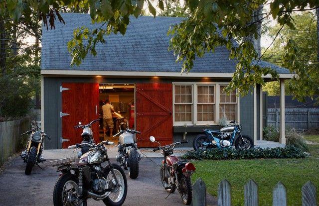 Workshop plans joy studio design gallery best design for Motorcycle garage plans