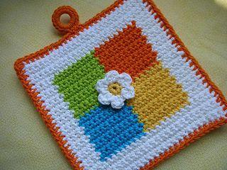 Crochet Potholder Patterns
