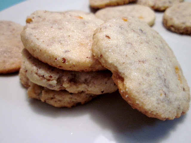 Orange Cream Cheese Cookies...maybe add some chopped cranberries