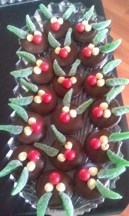 Reindeer biscuits | Christmas | Pinterest