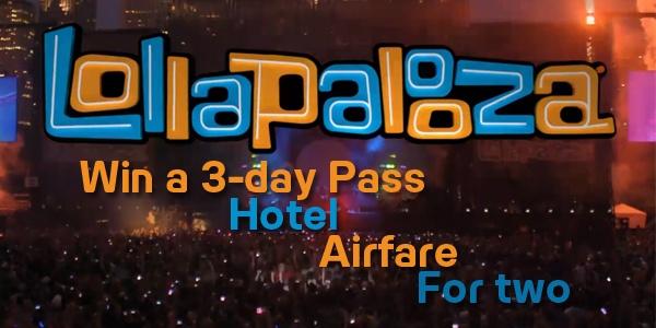 I Want To Win A Trip To Lolapalooza! - Radio 104.5