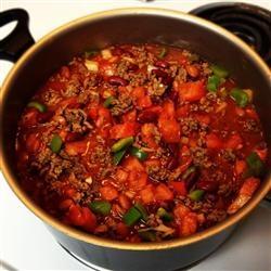 Boilermaker Tailgate Chili Allrecipes.com