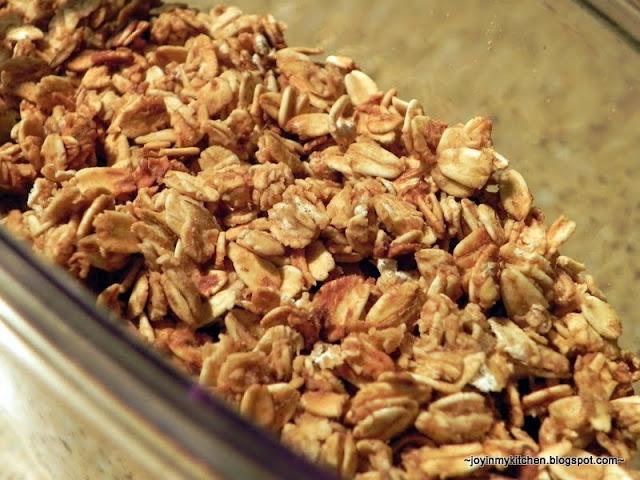 Low fat Applesauce Granola   To cook   Pinterest