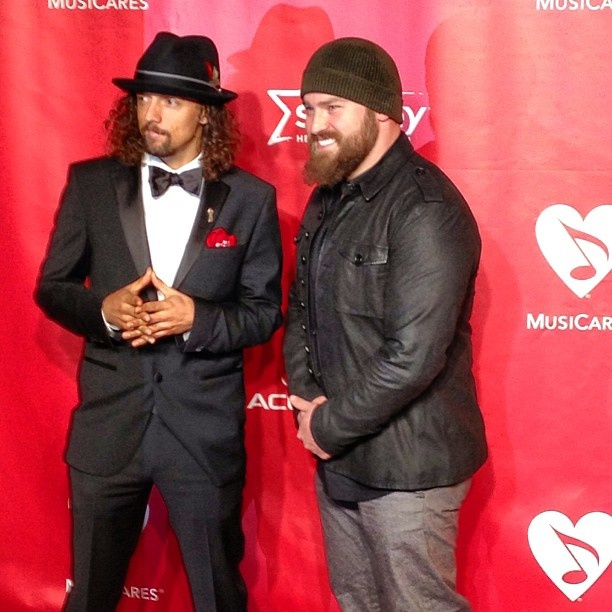 Zac Brown + Jason Mraz #MusiCares Person Of The Year - @thegrammys- #webstagram
