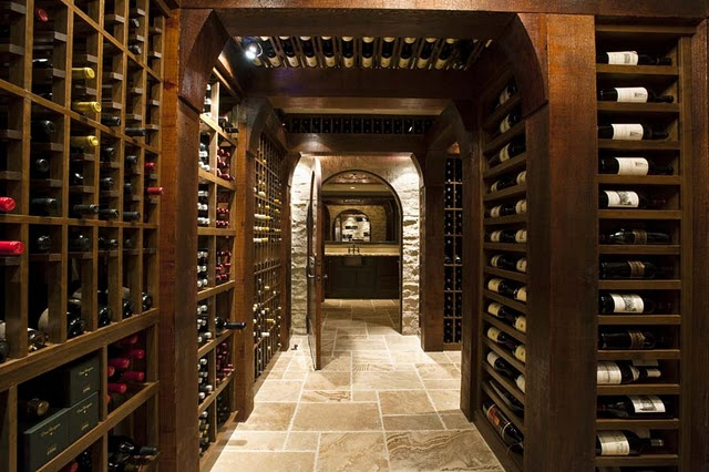 Wine cellar with tasting room the cellar pinterest for Wine cellar pinterest