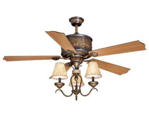 turn of the century yellowstone 56in 3 light ceiling fan at menards. Black Bedroom Furniture Sets. Home Design Ideas