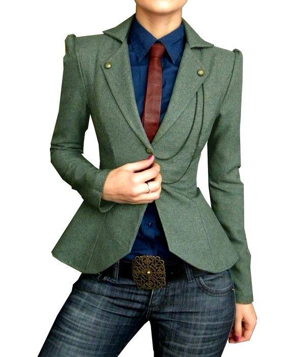 That blazer.