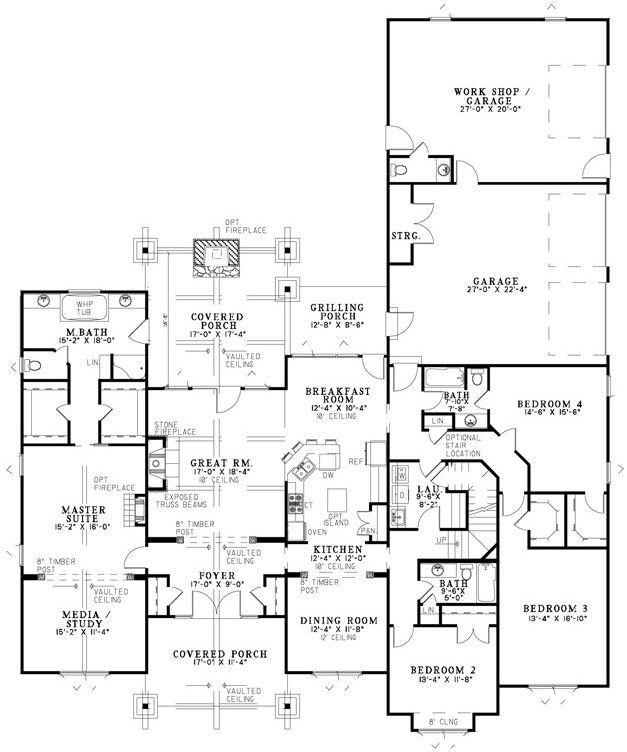 Mountain View House Plan 8649 Dream Home Pinterest
