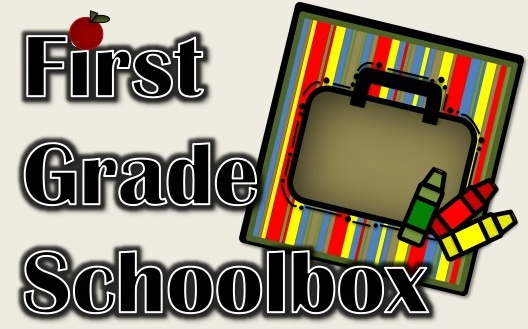 First Grade School Box - lots of things that would work for kinder