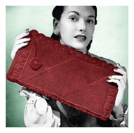 Vintage Crochet 1940s