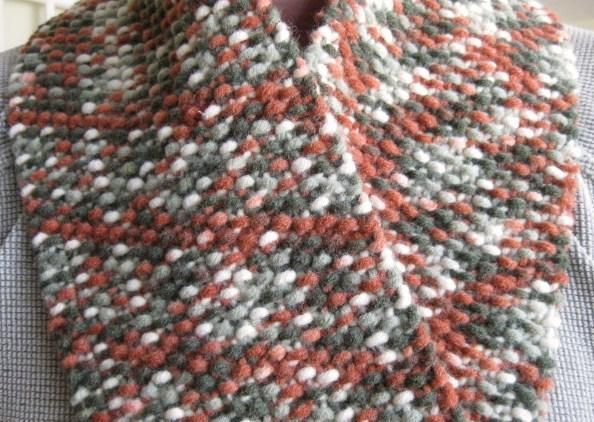 Seed Stitch Scarf Pattern knit me one more time Pinterest