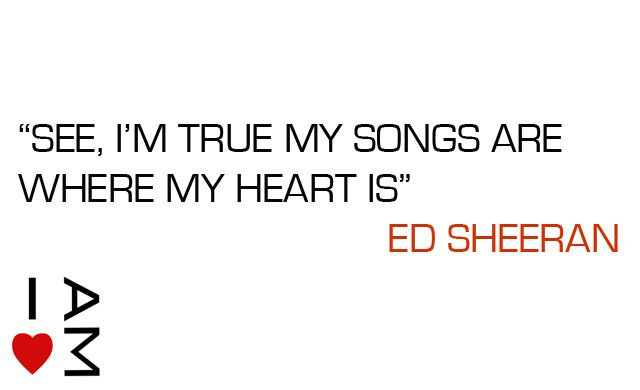 ed sheeran quotes ed sheeran quote with vo5 wax for my