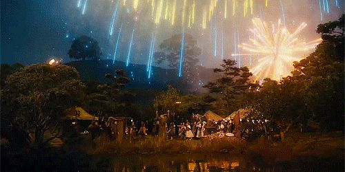 Lord Of The Rings Firework Show